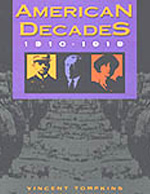 American Decades 1910-1919 book cover