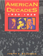 American Decades 1920-1929 book cover