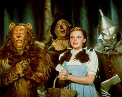 A photo still from the Wizard of Oz