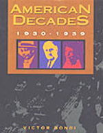 American Decades 1930-1939 book cover