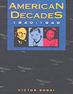 American Decades 1940-1949 book cover