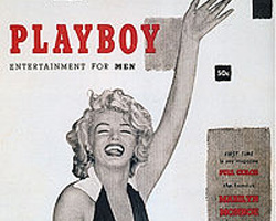 First Playboy cover