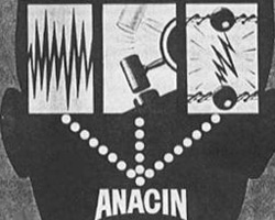 A photo still from Rosser Reeves's Anacin ad