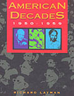 American Decades 1950-1959 book cover