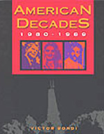 American Decades 1980-1989 book cover
